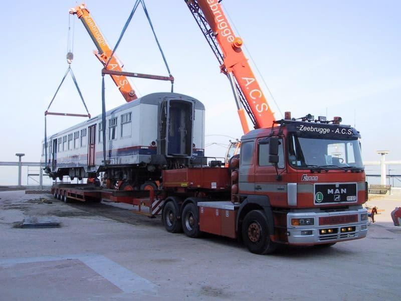 Referenties : gerenommeerde bedrijven (transport van wagens SNCB)